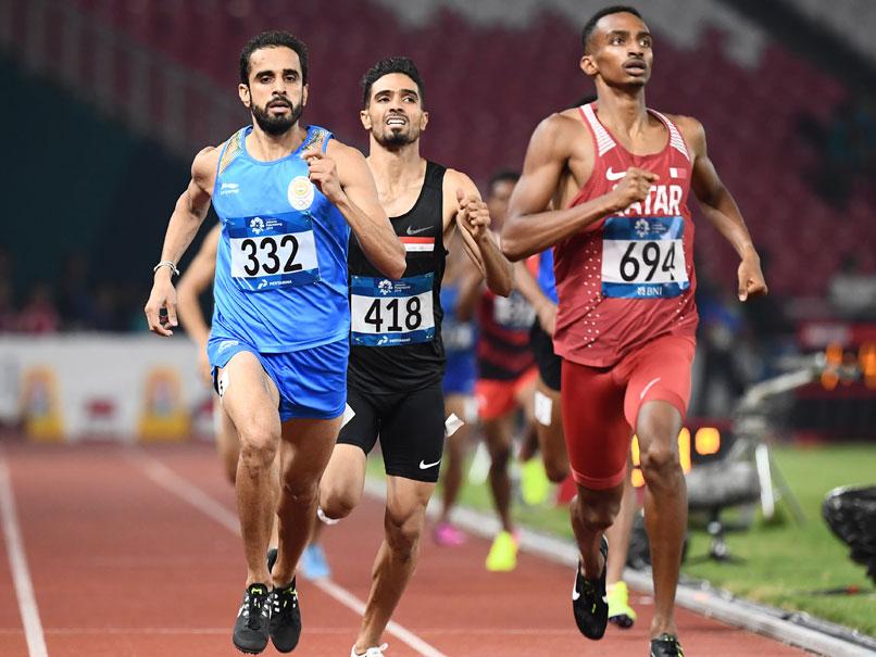 ஆசிய போட்டிகள்: 800 மீ ஓட்டத்தில் இந்தியாவிற்கு தங்கம் மற்றும் வெள்ளி!