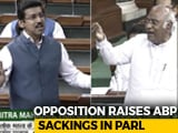Video : On ABP Journalists' Exit, Opposition vs Government In Parliament