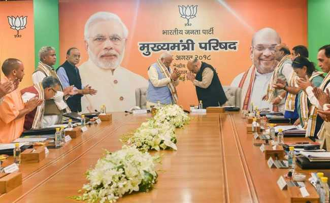 For An Edge In Polls, BJP Plans Sharper Focus On Central Schemes: Sources