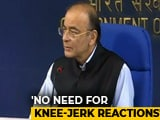 "Video : For Plunging Rupee, Finance Minister Arun Jaitley Blames ""Global Reasons"""