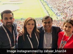 Ambanis To Sachin Tendulkar, World Cup Final Had Everyone Hooked. See Pics