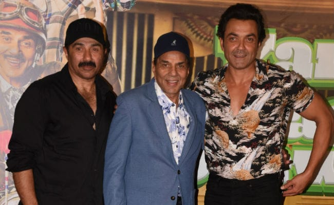 Sunny Deol Wants A Biopic On Dad Dharmendra Only If...