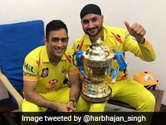 MS Dhoni Gets Special Message From Harbhajan Singh
