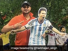 World Cup: Lionel Messi Is Giving Sleepless Nights To Harbhajan Singh. Here