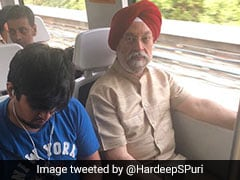Caught In Jam, Minister Took Delhi Metro. Then Shared Review On Twitter