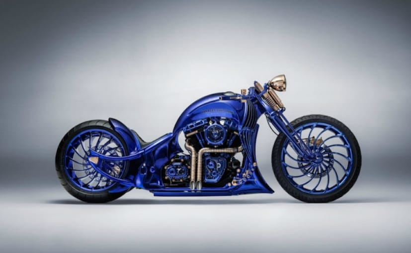 Custom Harley-Davidson Is The Most Expensive Bike In The World