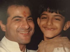 <I>Bhavesh Joshi</i> Harshvardhan Kapoor 'Unmasked' In Uncle Sanjay's Flashback Friday Treat