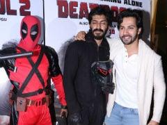 Bhavesh Joshi Superhero Gatecrashes <i>Deadpool 2</i> Screening. See Pics From Superhero Face-Off