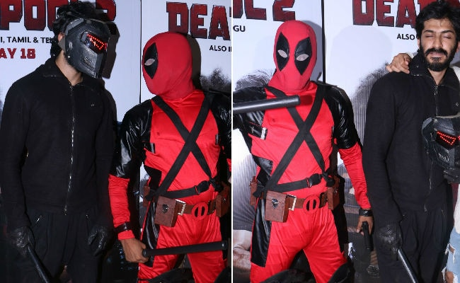 Bhavesh Joshi Superhero Gatecrashes Deadpool 2 Screening. See Pics From Superhero Face-Off