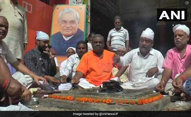 For Atal Bihari Vajpayee's Well-Being, A Havan In Kanpur