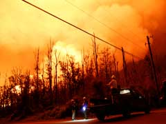 Hawaii's Kilauea Volcano Explosion Spews Ash As Lava Flows Into Sea