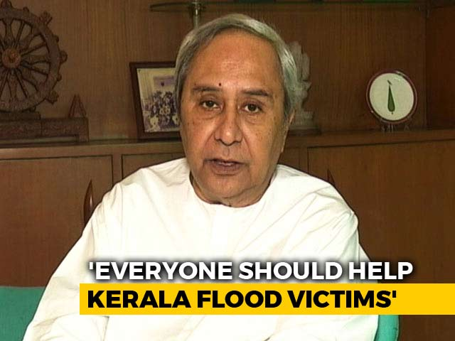 Video: Odisha CM Naveen Patnaik Urges Indians To Support Kerala Flood Victims