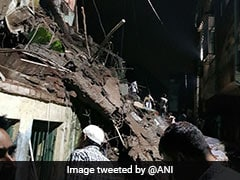One Dead After Building Collapses In Maharashtra's Bhiwandi