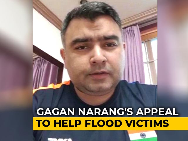 Video : Gagan Narang's Appeal To Help Rebuild God's Own Country