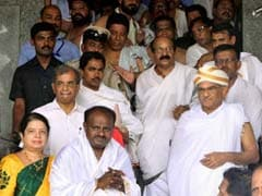 HD Kumaraswamy's Temple-Hopping Spree Continues Ahead Of Swearing In