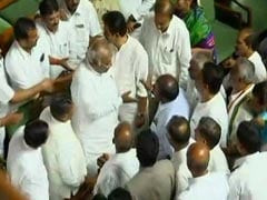 HD Kumaraswamy Wins Trust Vote After BJP Walks Out Of Karnataka Assembly