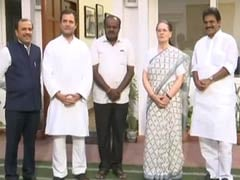 Let The Past Be History, Gandhis Said To HD Kumaraswamy At Meet Today
