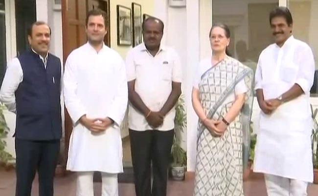 Karnataka By Polls: कर्नाटक उपचुनाव में कांग्रेस-JDS गठबंधन को मिला दिवाली बोनस, 5 में से 4 सीटों पर कब्जा