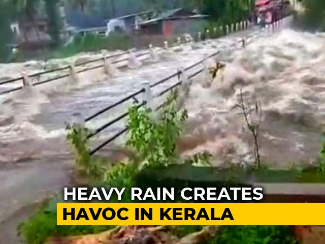 Video : Girl, 9, Among 3 Killed Today In Landslide Caused By Heavy Rain In Kerala