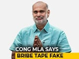 Video: Congress Lawmaker Says Bribe Tape Against BJP Fake, Embarrasses Party