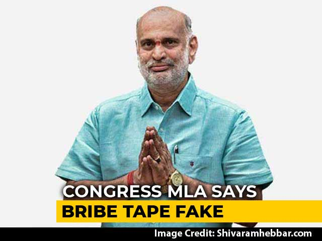 Video : Congress Lawmaker Says Bribe Tape Against BJP Fake, Embarrasses Party