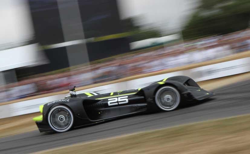 First-Ever Driverless Race Car Completes Goodwood Hillclimb