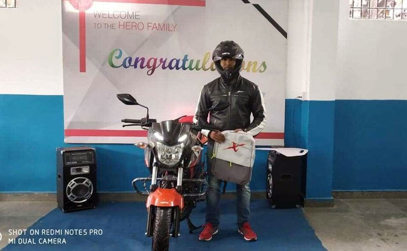 hero xtreme 200r deliveries