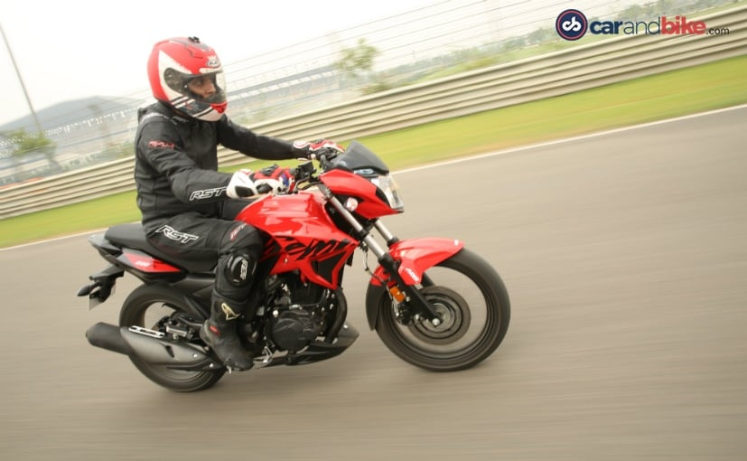 hero xtreme 200r first ride