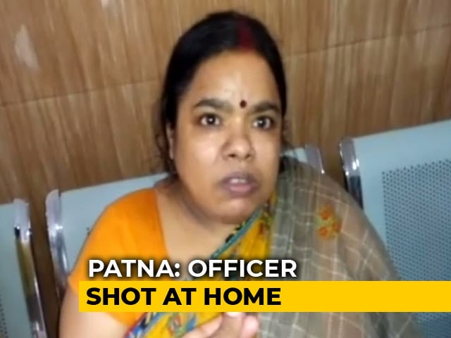 Video : Bihar Government Official Shot Dead At Home In Suspected Robbery Attempt