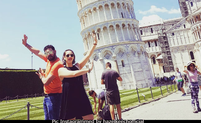 Yuvraj Singh's Leaning Tower Of Pisa Pic Was A Hilarious Fail. Wife Hazel Keech Has Proof