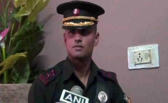 Kargil Hero's Son Joins His Dad's Battalion 19 Years On