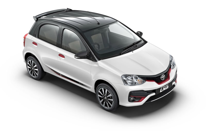 Toyota Etios Liva Limited Edition Launched With Red Accents Ndtv
