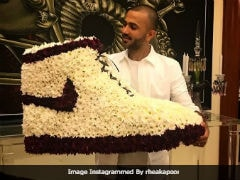 Sonam Kapoor's Sister Rhea Gave Sneaker Fan Anand Ahuja The Ultimate Shoe As A Birthday Gift