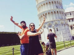 Yuvraj Singh's Leaning Tower Of Pisa Pic Was A Hilarious Fail. Wife Hazel Keech Has Proof