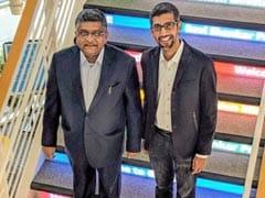Google Briefs IT Minister Ravi Shankar Prasad About Its Plans For India