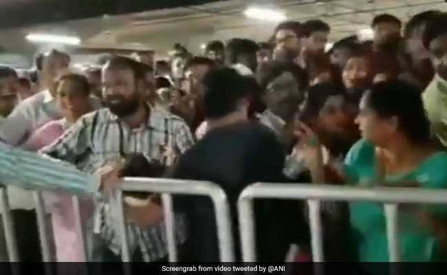 Watch: Stampede-Like Situation On Public Opening Of IKEA Hyderabad
