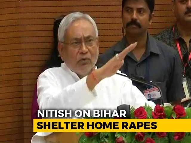 """Video : """"Shameful"""": Nitish Kumar Breaks Silence On Bihar Shelter Home Rapes"""