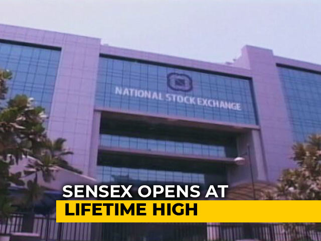 Video : Sensex Hits Lifetime High Of 37,496; Nifty Above 11,300