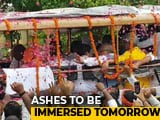 Video : Vajpayee's Ashes In Lucknow, Signals Start Of BJP's Statewide Mega Yatra