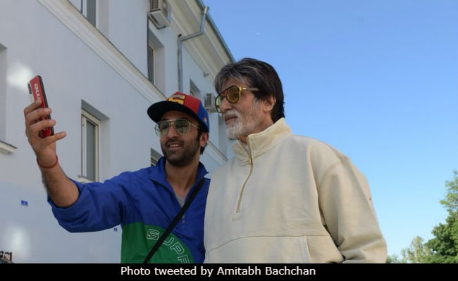 Brahmastra: Amitabh Bachchan And Ranbir Kapoor Bond Over 'Selfies And All' In New York