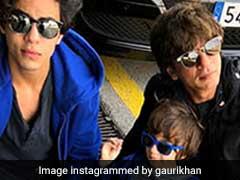 तस्वीरों में देखिए शाहरुख खान, फराह खान और शिल्पा शेट्टी का Family Vacation