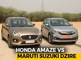 Video : Which Car Should I Buy? Honda Amaze vs Maruti Suzuki Dzire