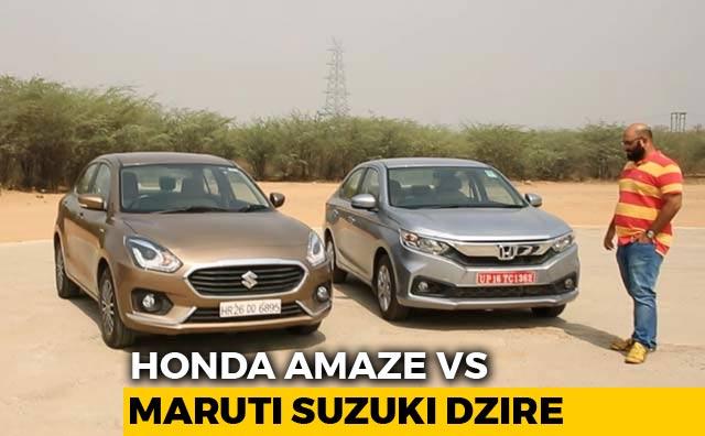 Video : Which Car Should I Buy? Honda Amaze vs Maruti Suzuki Dzire
