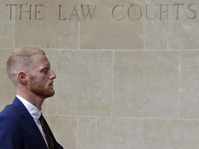 Ben Stokes Arrives At Court For Affray Trial