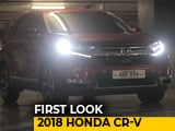 Video : First Look 2018 Honda CR-V