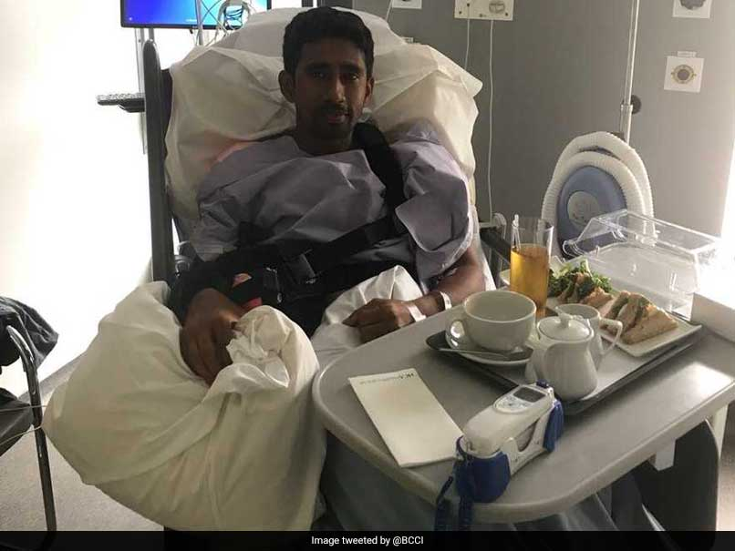 Wriddhiman Saha Undergoes Shoulder Surgery In Manchester