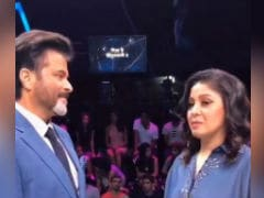 Anil Kapoor Asks Singer Sunidhi Chauhan About Her Fanney Khan. It's Her Dad