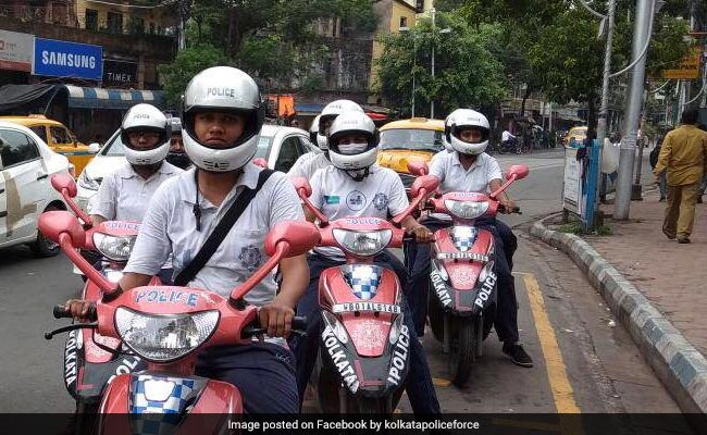 Kolkata Police Launches All-Women Patrolling Team