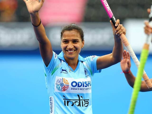 Hockey captain Rani Rampal says, he is satisfied with recent performance, but...