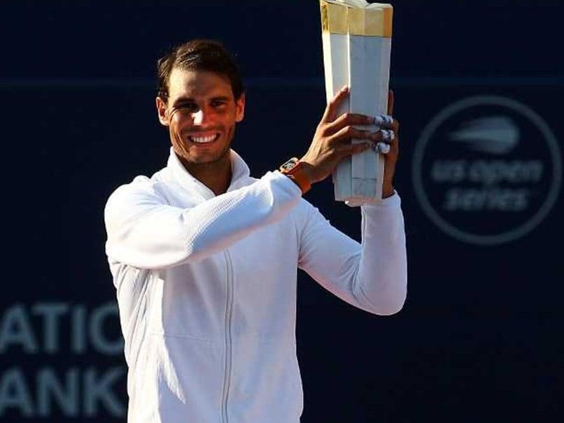 Rafael Nadal Downs Stefanos Tsitsipas To Win Toronto Masters